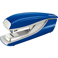 Leitz New NeXXt Metal Flat Clinch Office Stapler 3mm Blue