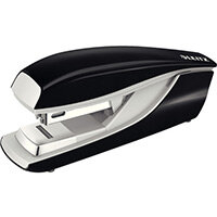 Leitz New NeXXt Metal Flat Clinch Office Stapler 3mm Black