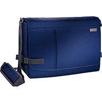 Leitz Complete 15.6in Laptop Messenger Bag Smart Traveller Titan Blue