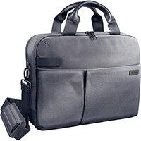 Leitz Complete 13.3in Laptop Bag Smart Traveller Silver