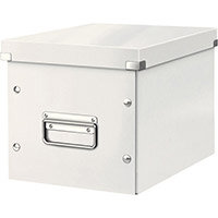 Leitz Box Click & Store Cube Medium Storage Box White