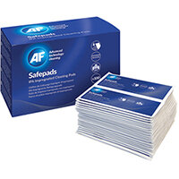 AF IPA Impregnated Cleaning Pads Pack of 100 SPA100