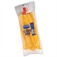 Addis Cloth Mop Head Refill Thick Absorbent Strands Red (Pack 1)