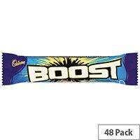 Cadbury Chocolate Boost Bars Pack 48 100129