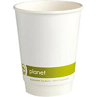 Planet 12oz Double Wall Cups Pack of 25 HHPLADW12