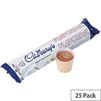 Autocup Cadbury Drinking Instant Hot Chocolate Powder (Pack 25)