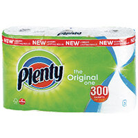 Plenty Kitchen Roll 100 sheets Pack of 3 M01454