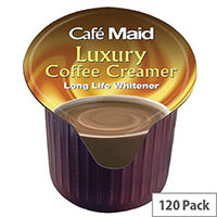 Cafe Maid Luxury Coffee Creamer Pots 12ml Long Life (Pack of 120)