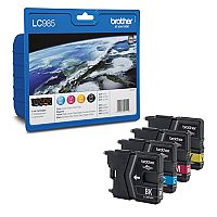Brother LC985VALBP 4-Colour Value Pack Inkjet Cartridges