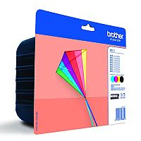 Brother LC223 4-Colour Value Pack Inkjet Cartridges LC223VALBP