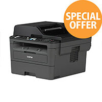 Brother MFC-L2710DW Mono Laser All-In-One Printer - print, copy, scan and fax - Automatic duplex printing - Wired & Wireless Network - MFCL2710DWZU1