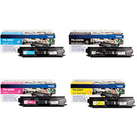 Brother TN326 Toner Cartridge Bundle Cyan/Magenta/Yellow/Black Pack of 4 BA810616