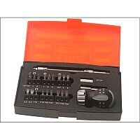 Bahco Stubby Ratchet 22 Piece Screwdriver Set
