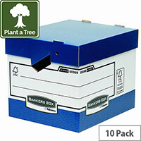 Fellowes Bankers Box Heavy Duty Standard Storage Box Ref 0089901 [Pack 10]