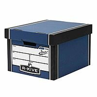 Fellowes Bankers Box Premium 725 Classic Archive Storage Box Blue 10 Pack
