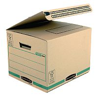 Bankers Box Secure Ship and Store Packing Cardboard Box Brown Pack of 10 (3 For The Price Of 2) BB810481