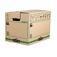 Bankers Box Large Brown Removal Packing Cardboard Box Pack of 5 (3 For The Price Of 2) BB810484
