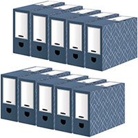 Bankers Box 100mm Transfer File Pack of 5 Buy 1 Get 1 Free 4483801