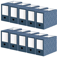 Bankers Box 150mm Transfer File Pack of 5 Buy 1 Get 1 Free 4483901