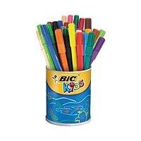 Bic Kids Visa Colouring Felt Tip Pens Fine Assorted Pack of 36 829012