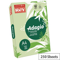 Adagio Bright Green A4 Card Paper 160gsm Pack of 250