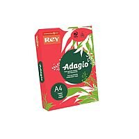Adagio Card A4 160gsm Red (Pack of 250)