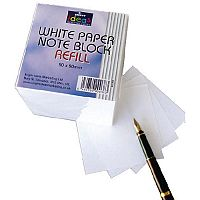 Bright Ideas Note Block Refill 700 White Sheets BI2350