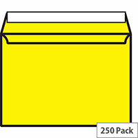 Blake C5 Canary Yellow Wallet Envelopes Pack of 250