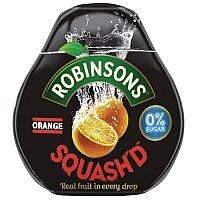 Robinsons Squashd Orange and Peach Dilute Drink Squash 66ml (Pack 1) 0402040