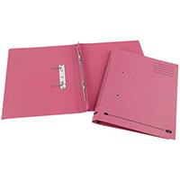 Elba Spirosoft Spring Foolscap Pink Pack of 25 100090162