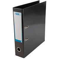 Elba Classy 70mm Black A4 Lever Arch File 400020889