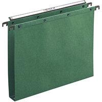Elba Suspension File Azo 30mm FC Manilla Green Pack of 25 100330319