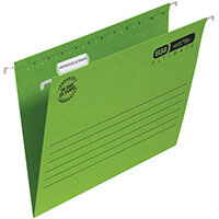 Elba Ulti Vert Suspension File Vbtm FC Green Pack of 25 100331170