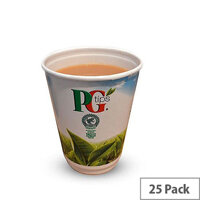 PG Tips In Cup Vending Machine White Tea (25 Pack) A01921