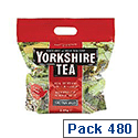 Yorkshire Tea Soft Water Tea Bags (480 Pack) 1127