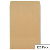 New Guardian C3 (A3) Heavyweight Envelopes Peel/Seal Manilla Pack125 C27013