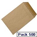 C5 Manilla Envelopes Pocket Press Seal 115gsm Pack 500 5 Star