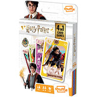 Shuffle Harry Potter 4-in-1 Card Game Pack of 12 108542998