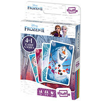 Shuffle Disney Frozen II 4-in-1 Card Game Pack of 12 108547998
