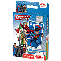Shuffle Justice League 4-in-1 Card Game Pack of 12 108543998
