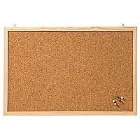Franken Cork Board Wooden Frame 800 x 600mm CC-KT6080E