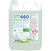 Clover ECO 460 All Purpose Cleaner 5 Litre Pack of 2 460