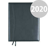Collins Elite Executive Week to View 2020 Diary Black 1130V