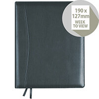 Collins Elite Compact Week to View 2020 Diary Black 1150V