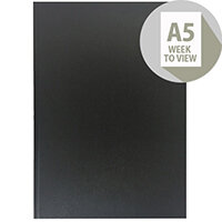 Collins A5 Desk Diary Week to View 2020 Black 35
