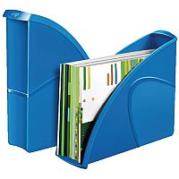 Ceppro Gloss Magazine File Blue 674G