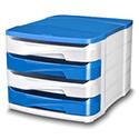 Cep Pro Gloss 4 Drawers Module Blue
