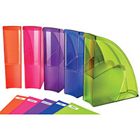 Happy by CEP Magazine File Multicoloured Pack of 5 674+*5 Happy