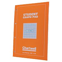 Chartwell Graph Pad A4 50 Sheets 1-5-10mm J14B