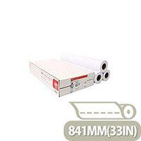 Canon 841mmx50m Uncoated Standard Inkjet Plotter Paper (3 Pack) Ref 97003453